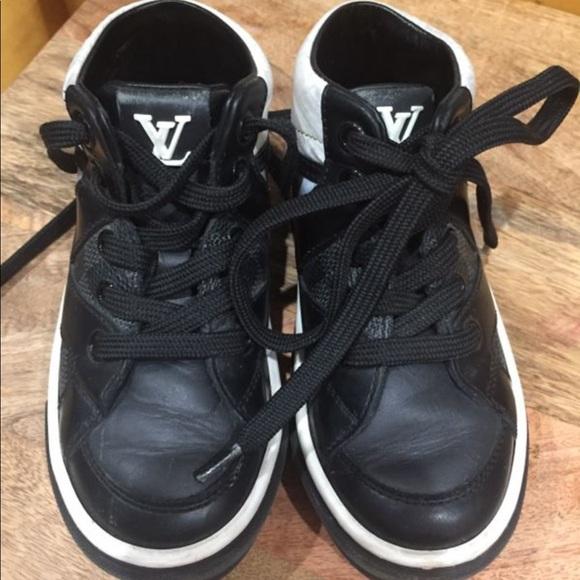 Louis Vuitton Boys Shoes 9c